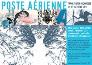 Posté Arienne auf der Buchmesse 2011 in Frankfurt
