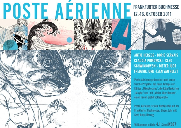 Poste Aérienne auf der Buchmesse 2011 in Frankfurt
