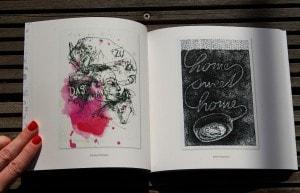 Künstlerkatalog mit Grafik von C.POM
