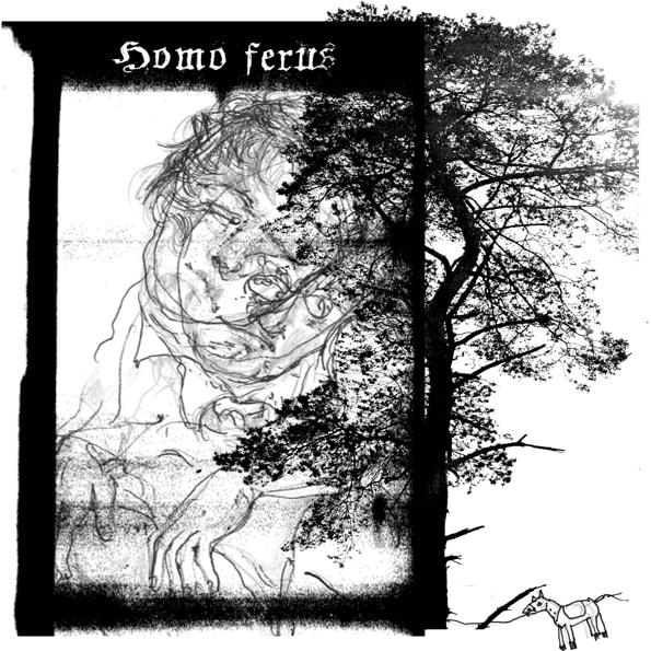 Homo-Ferus - Illustration von C.POM zu Kasper Hauser
