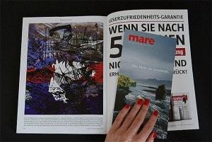 Meeresrauschen - Illustration für die Zeitschrift Mare